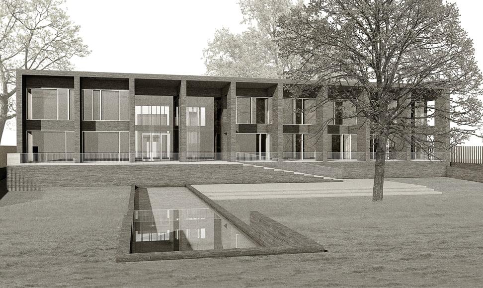 Neues Schweizer Konsulat, Nairobi Afrika - Visualisierung by MANTEL Architects