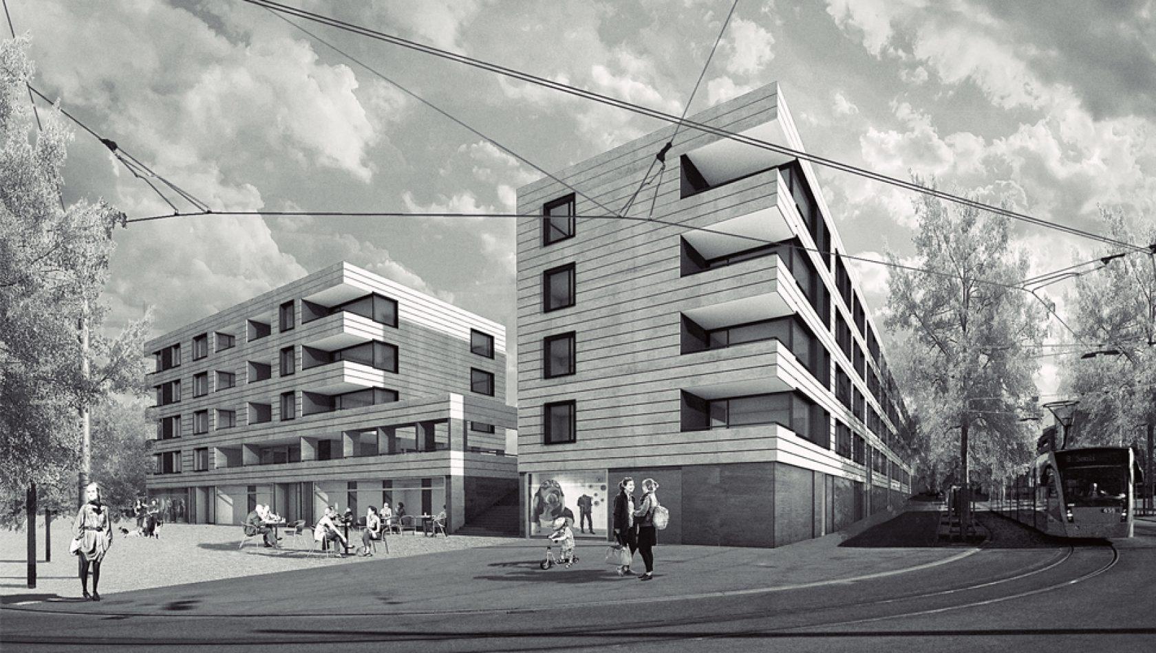 Brünnen, Bern - Visualisierung by MANTEL Architects