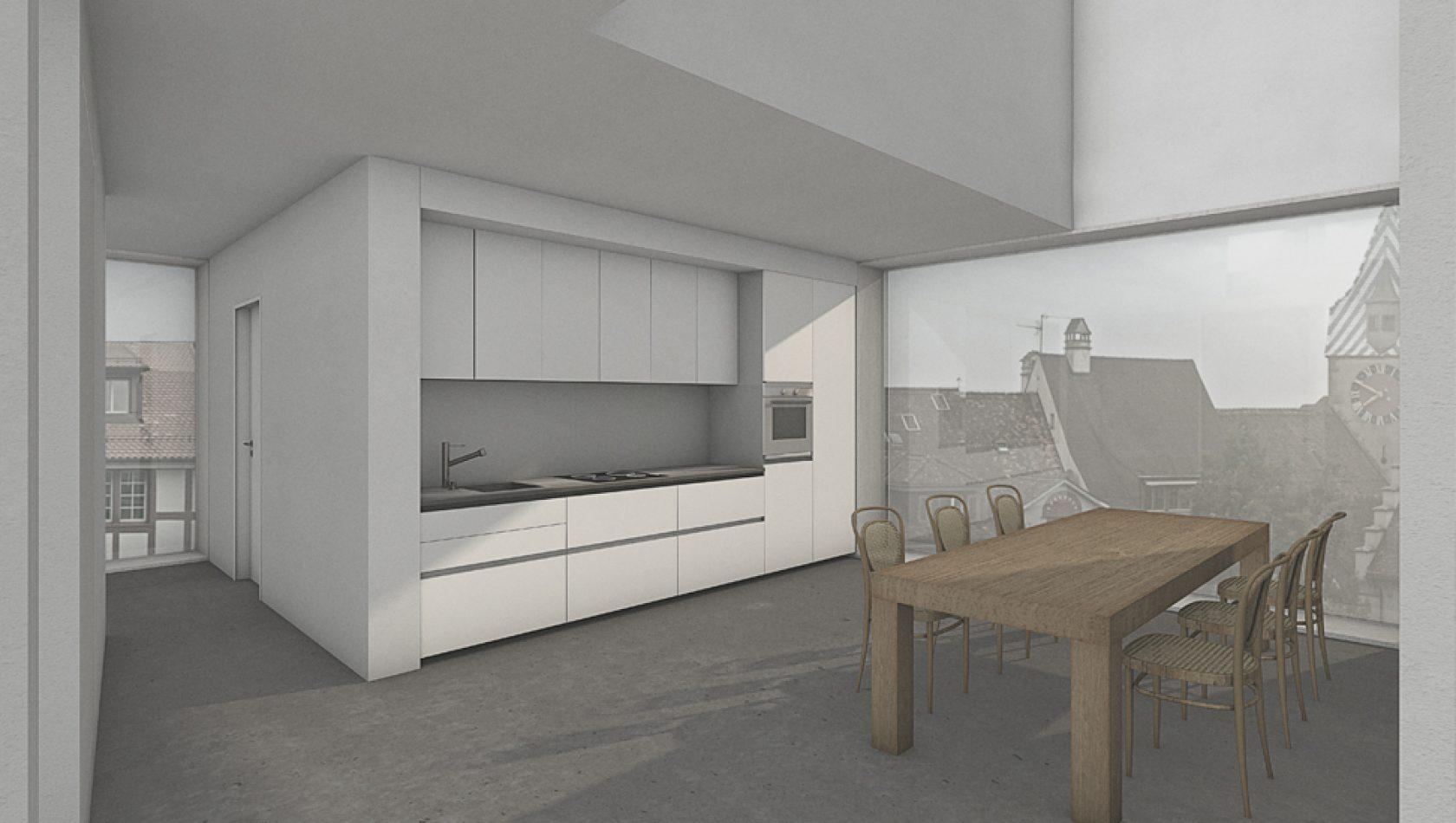 Gerome, Kolinplatz, Zug - Visualisierung by MANTEL Architects