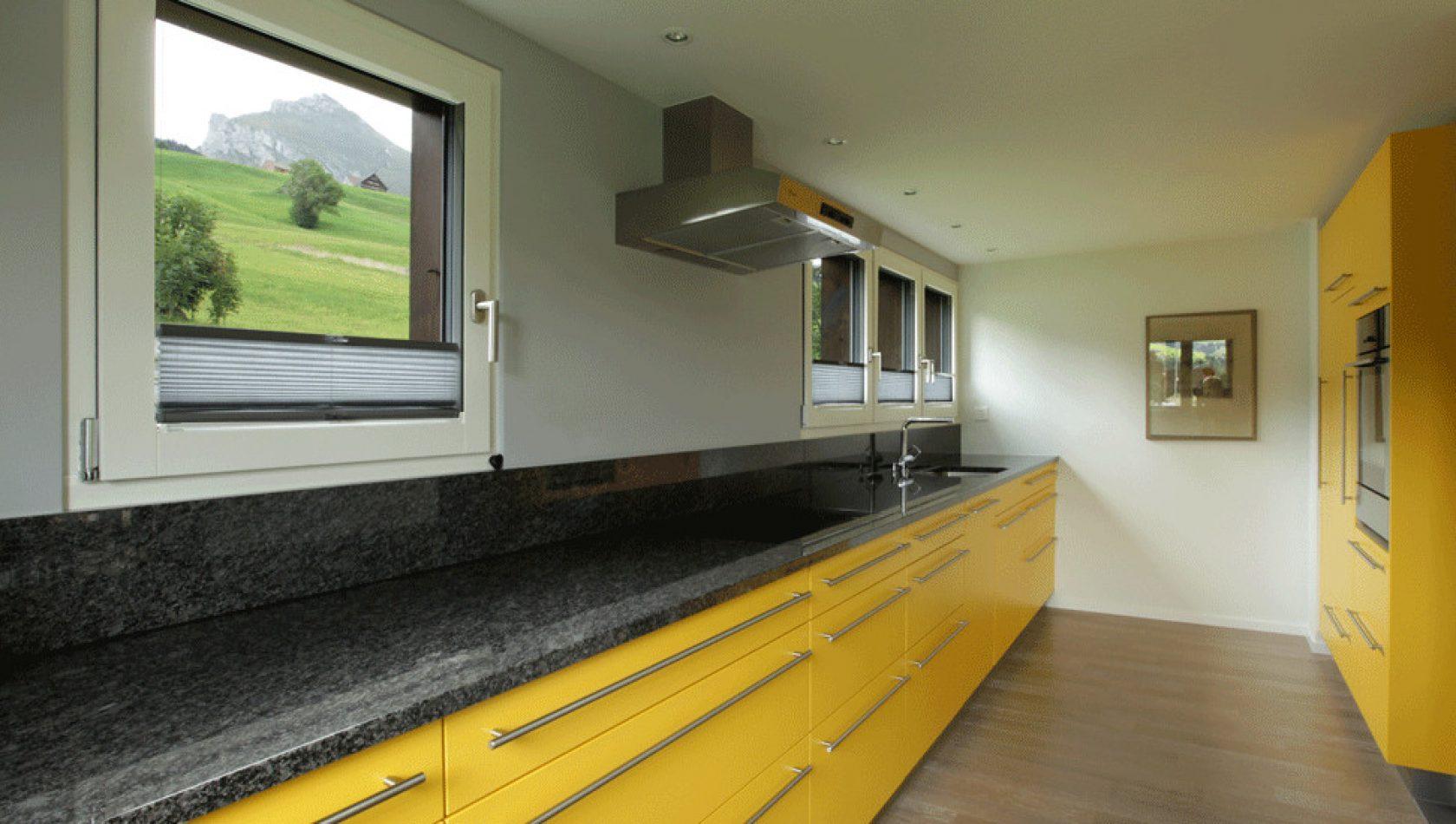 Haus Etter, Wildhaus, Küche - by MANTEL Architects