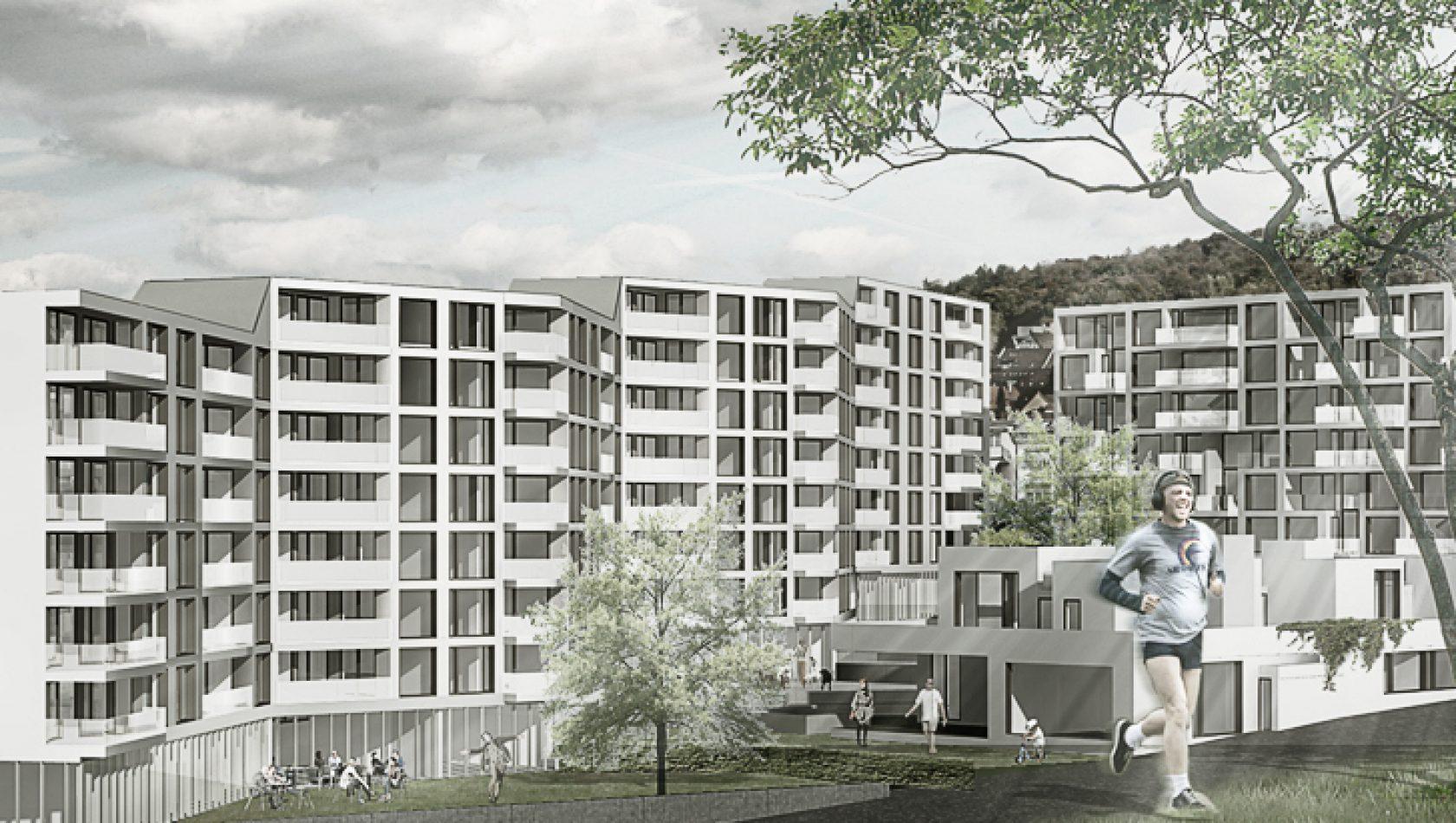 Kronenwiese Zürich - Visualisierung by MANTEL Architects