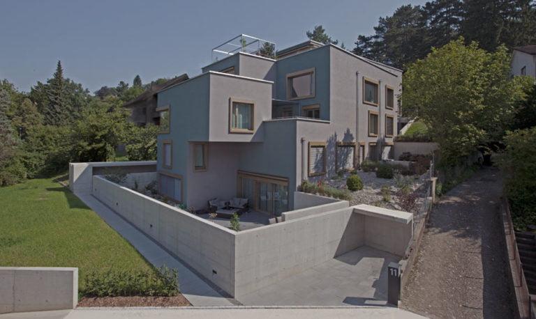 Smaragd, Winterthur, Ansicht Rychenbergstrasse - by MANTEL Architects